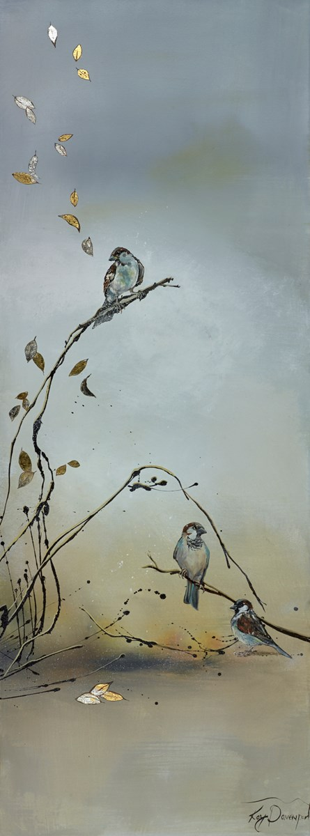 Birds' Song by kay davenport -  sized 18x48 inches. Available from Whitewall Galleries